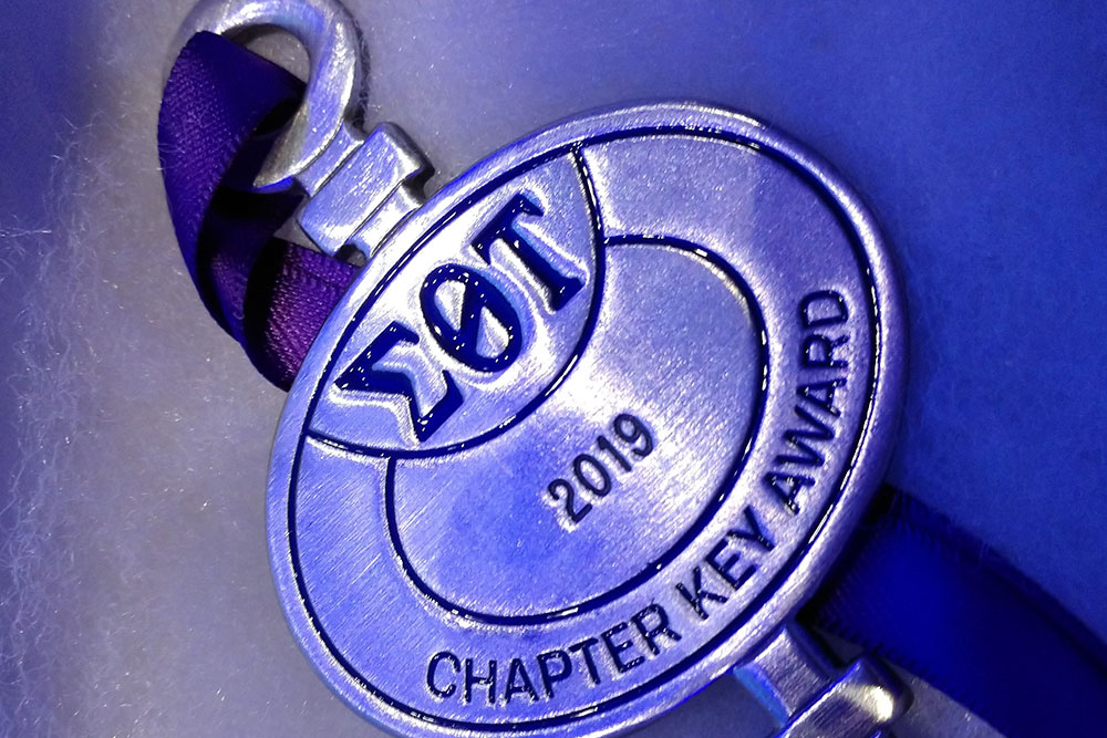 Beta Kappa Chapter Key Award 2019
